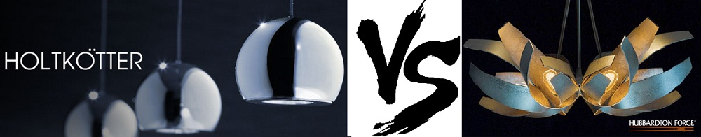 Holtkotter Lighting Vs Hubbardton Forge