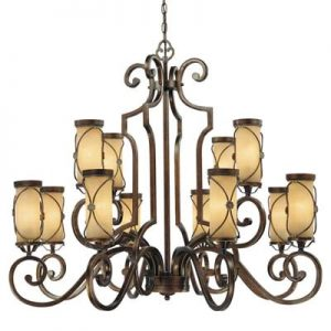 Atterbury 12 Light Chandelier