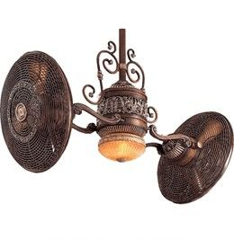 F502-BCW Minka Aire Traditional Gyro Belcaro Walnut Fan